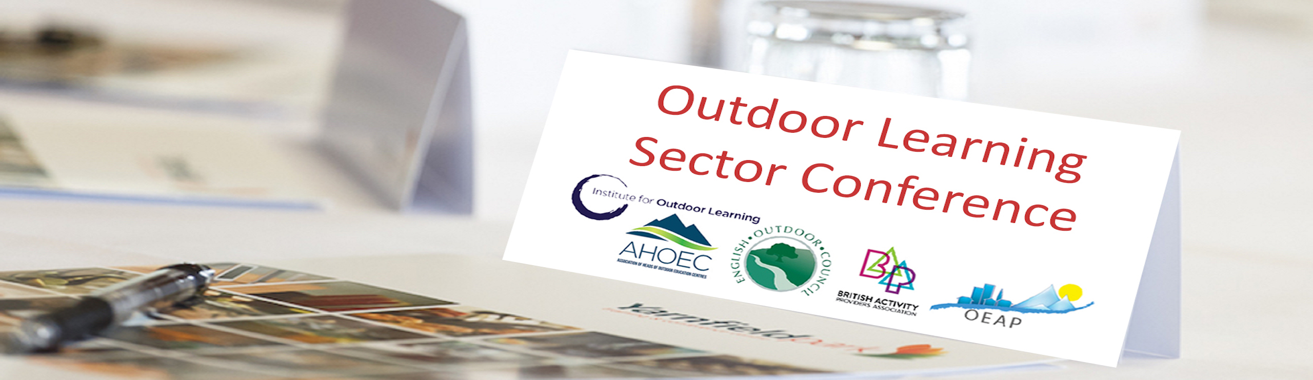 Outdoor Learning Sector Conference